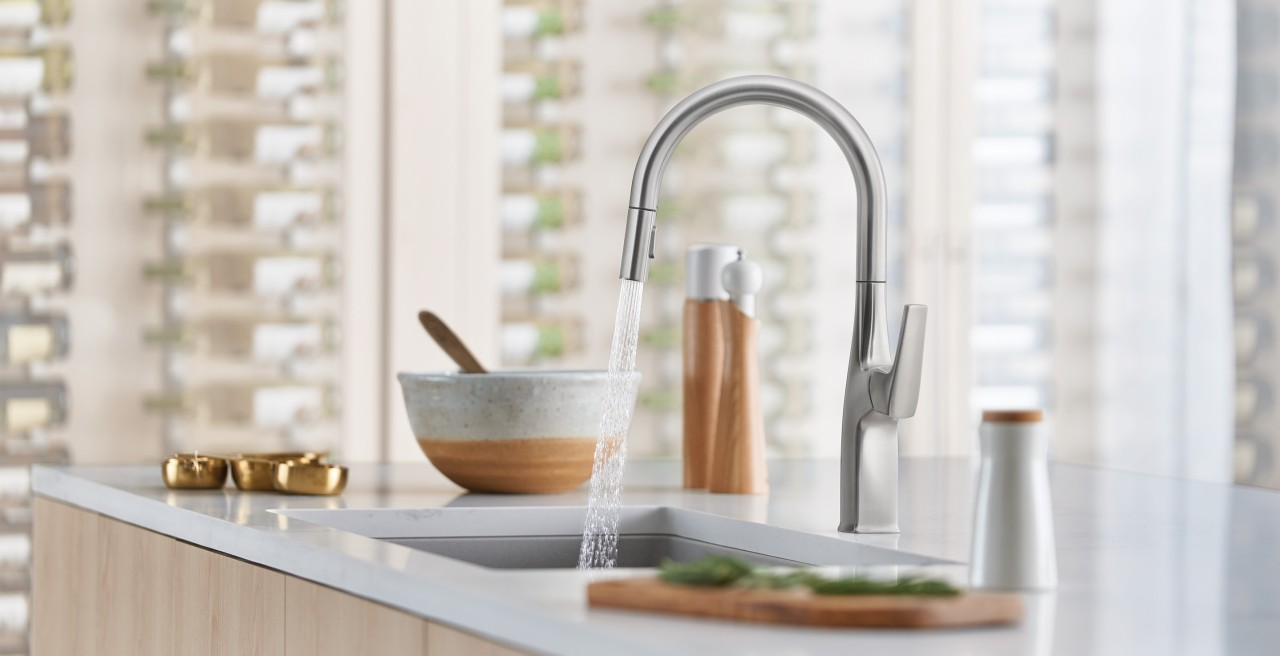 BLANCO RIVANA Pull-Down Kitchen Faucet