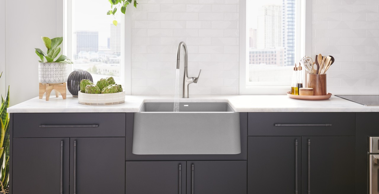 BLANCO IKON 27 Farmhouse Kitchen Sink