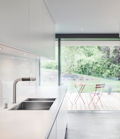 Kitchens in minimalistic style
