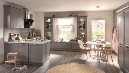 Would you prefer an open-plan concept? The L-kitchen makes the ideal solution, even if space is limited.