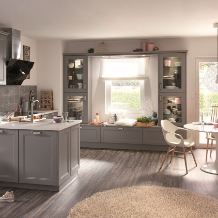 Urban industrial-style kitchens