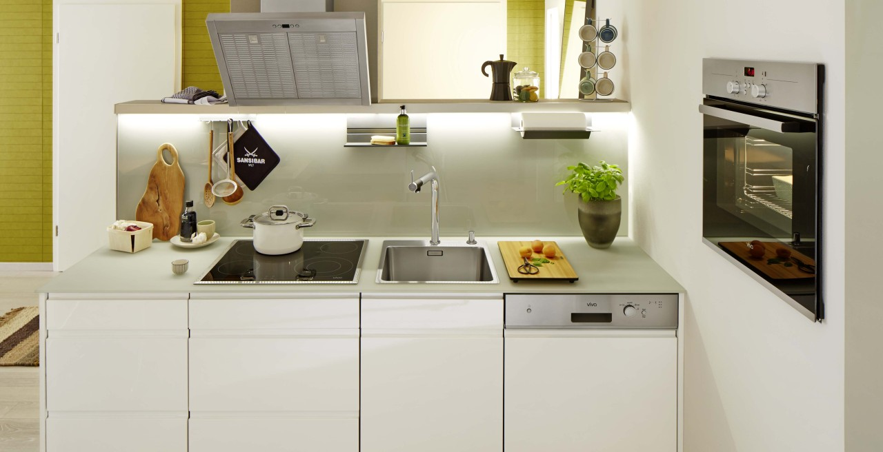 With the right combination of elements, you can create your dream kitchen even in a small space.