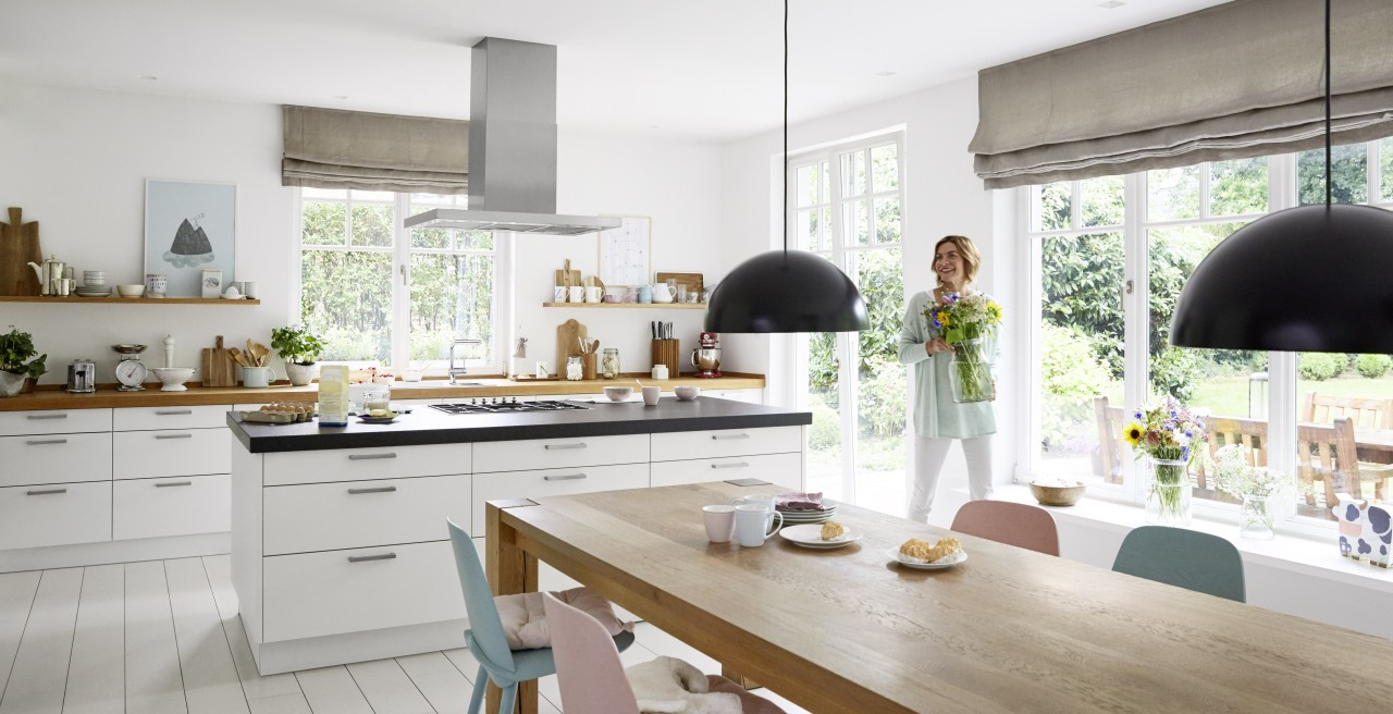 Kitchen in the modern country-house style