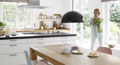Country house-style kitchens