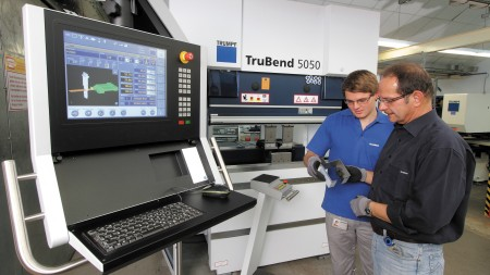Erfolgreiche Zusammenarbeit bei BLANCO in der Produktion