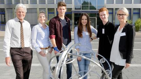 AFS-Stipendiaten mit Frank Straub