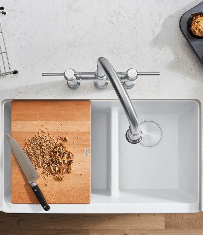 BLANCO IKON White Farmhouse Kitchen Sink