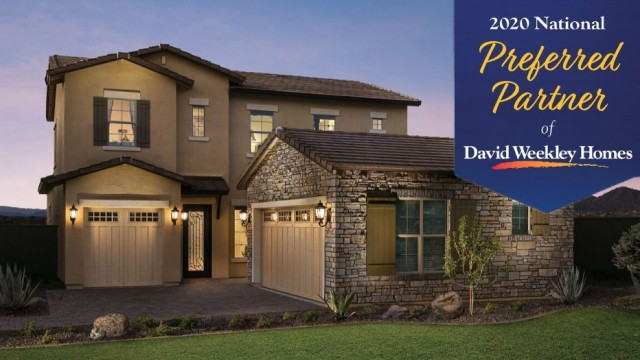 BLANCO is a winner of the David Weekley Homes 16th annual National Preferred Partner Award.