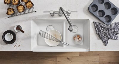 BLANCO Ikon 1.75 Farmhouse White Sink