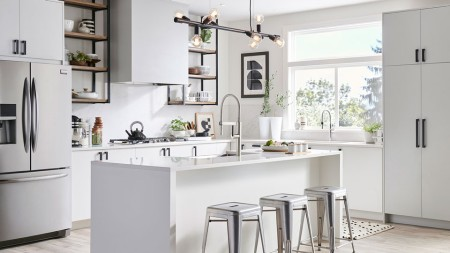 Kitchen island style & decor tips for the modern minimalist