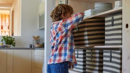 N'attendez pas jusqu'à la dernière minute pour nettoyer et préparer votre cuisine!