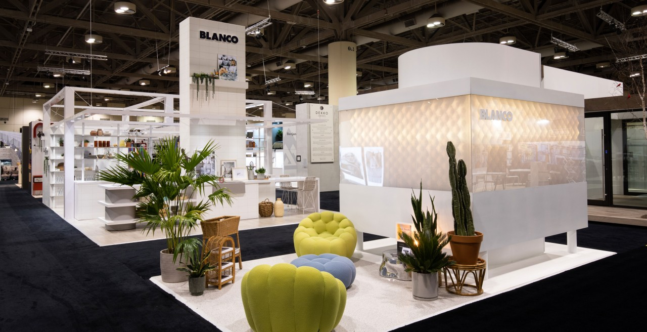 BLANCO at the Interior Design Show in Toronto, ON, Jan 2020