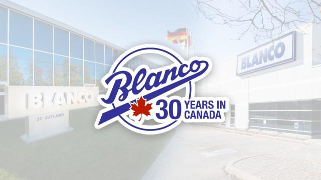 BLANCO Canada célèbre son 30e anniversaire