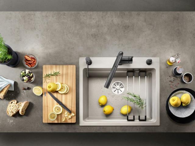 Die Farbe Beton-Style ist prädestiniert für Küchen in architektonisch geprägten Raumkonzept