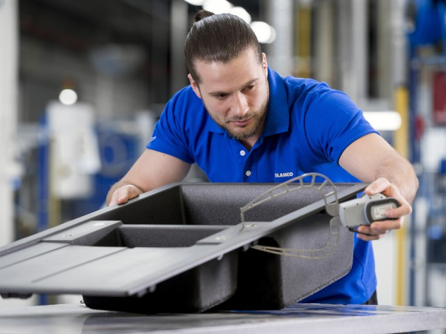 Premium-Hersteller Blanco stellt hohe Anforderungen an die Qualität seiner Produkte.
