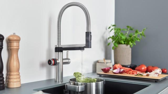 Blanco Evol-S Pro Hot & Filter- macht den Umgang mit Wasser in der Küche zur Leichtigkeit.