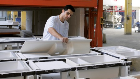 Ceramic sink production carved out via management buy-out