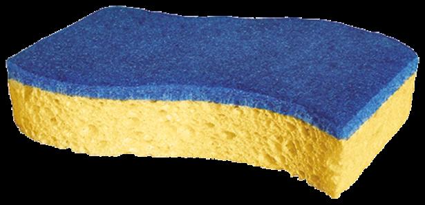 Spontex spons blauw krasvrij