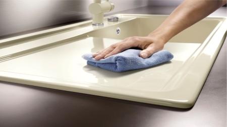 easy-care Ceramic sink