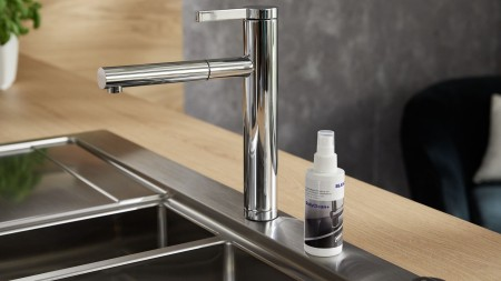 The professional BLANCO DailyClean+ limescale remover