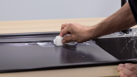 SILGRANIT as a material is very easy to clean
