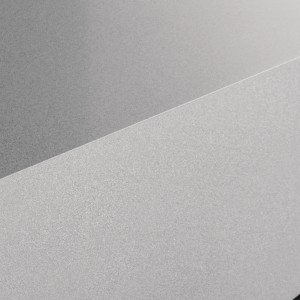 Durinox worktop with a 1mm edge radius