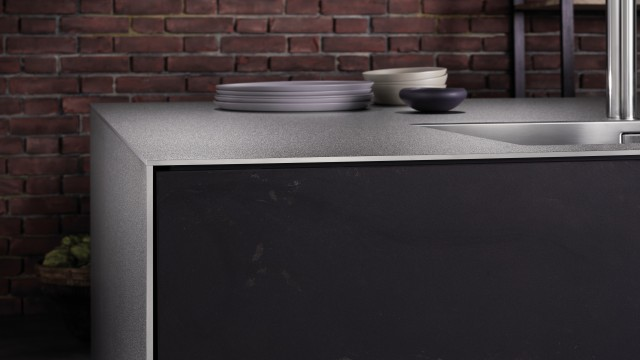 Durinox worktop with a SolidEdge