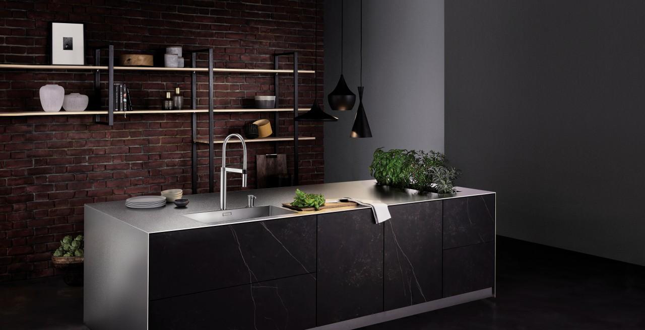 Schwarze Küchen im Urban Style