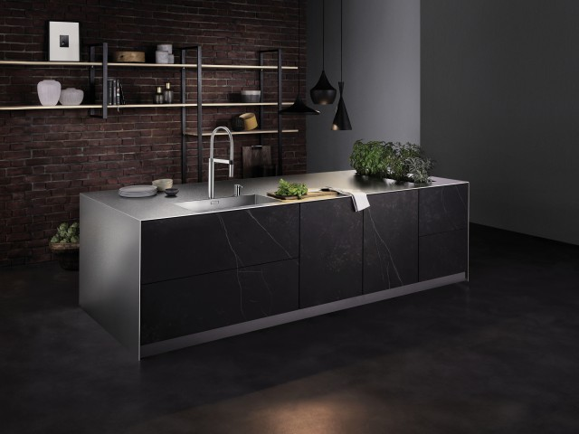 SteelArt worktop in Durinox