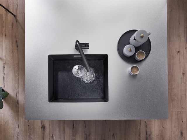 Subline bowl in a Durinox worktop
