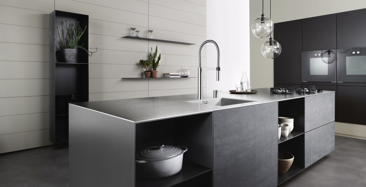 Durinox stainless steel worktops – made by BLANCO