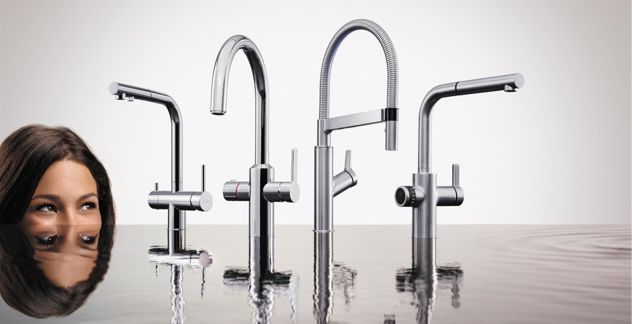 Smart mixer taps from BLANCO