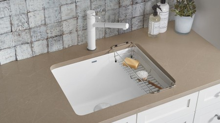ALTA Compact SILGRANIT Dual Finish Faucet