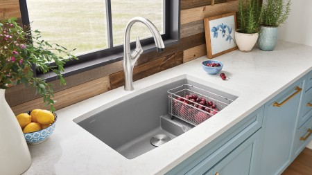 BLANCO ARTONA Dual Finish Kitchen Faucet