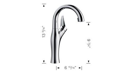 Artona Bar 2.2 GPM - BLANCO discontinued faucet