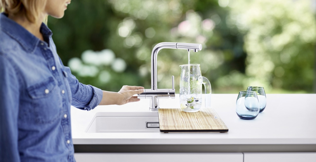 Get directly filtered water from the tap with the FONTAS II