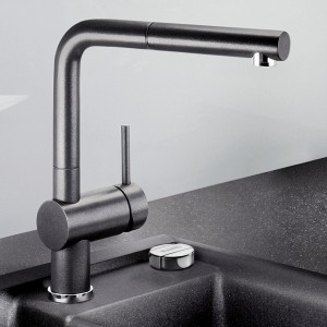 Single-lever mixer taps boast a timeless, minimalist design + high-quality features
