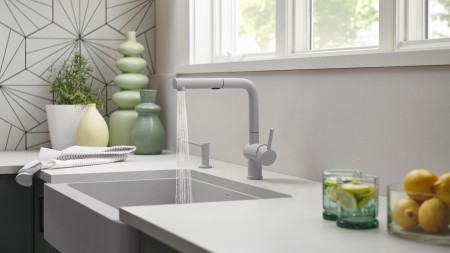 Colour Coordinated Kitchen Faucets By BLANCO - Full and Dual Finishes