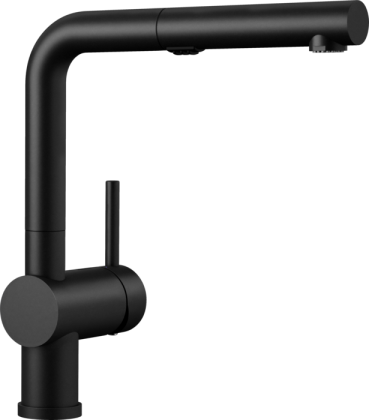 Linus Kitchen Faucet in BLANCO coal black