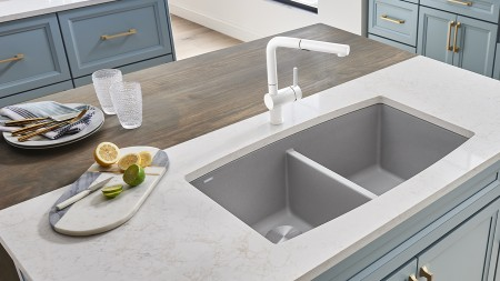 How to choose your faucet - Keep in mind the finish of the faucet - BLANCO CANADA
