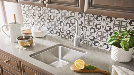 PRECIS ADA/CSA Wheelchair Accessible Kitchen Sinks