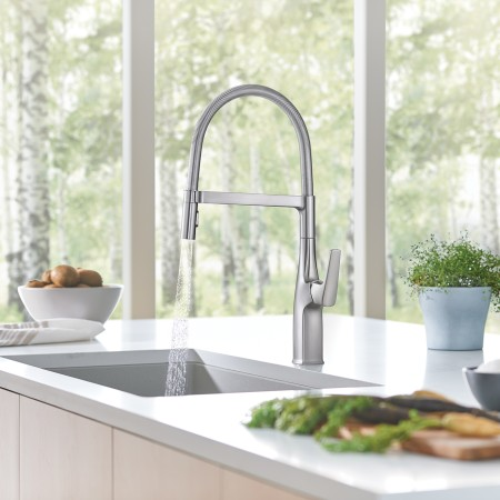 BLANCO RIVANA Semi-Professional Kitchen Faucet