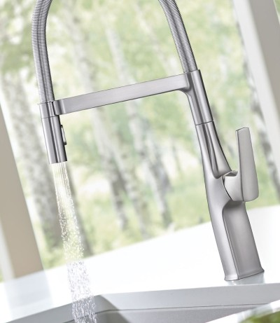 BLANCO semi-pro faucets provide home chefs with the ultimate in luxury and performance.