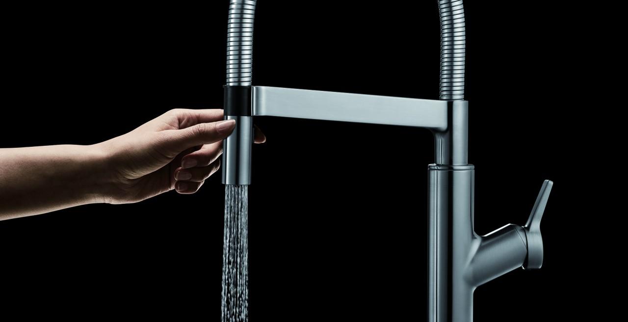 Solenta Senso - Hands Free Kitchen Faucet