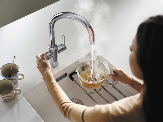BLANCO TAMPERA hot water mixer tap