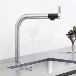VONDA draws the eye with its beautiful details, and on second glance reveals itself to be a highly functional mixer tap, too