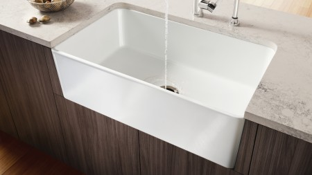 How to maintain the beauty of your ceramic kitchen sink