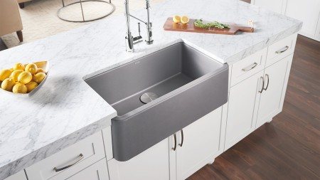 Metallic Gray SILGRANIT sink color