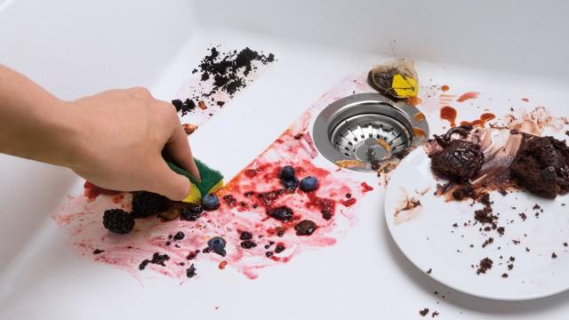 Nettoyage et entretien d'un évier SILGRANIT