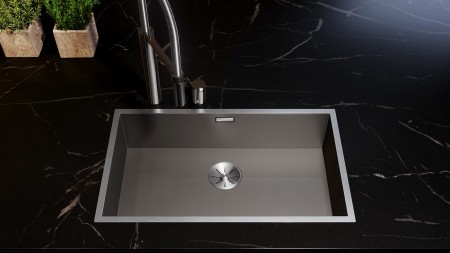 a DarkSteel sink